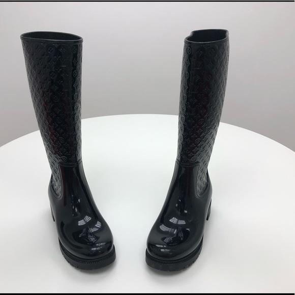 Louis Vuitton Rubber Splash Boots